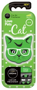 92570 Cat - Fancy Green