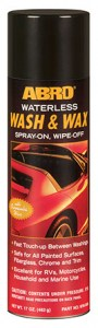 ww-606 waterless wash - wax